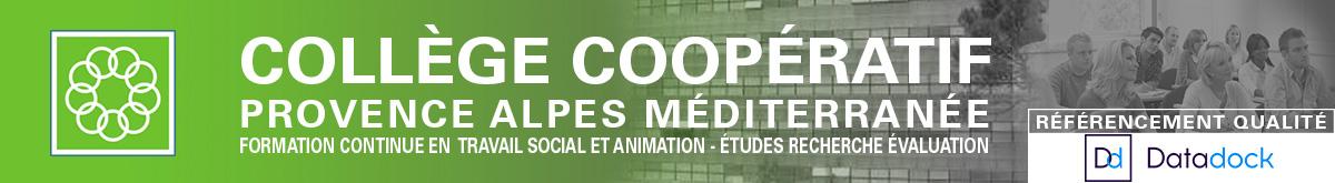 Collège Coopératif Aix-en-Provence : Formation travail social logo
